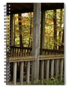 Up North Porch Spiral Notebook