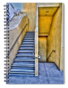 Up Stairs Down Stairs Spiral Notebook