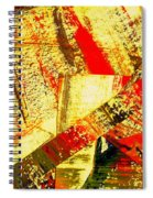 Upheaval II Spiral Notebook