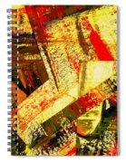 Upheaval Iv Spiral Notebook