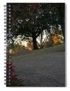 Uphill Sunrise Spiral Notebook