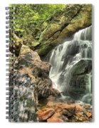 Upper Cascade Hidden Falls Spiral Notebook