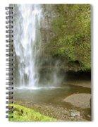Upper Cascade Pool Multnomah Falls Or Spiral Notebook
