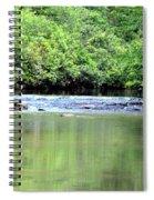 Upper Creek Reflections Spiral Notebook