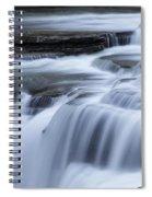 Upper Falls Detail Spiral Notebook