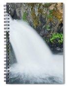 Upper Mccloud Falls 2 Spiral Notebook