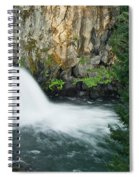 Upper Mccloud Falls Spiral Notebook