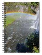 Upper Mesa Rainbow Spiral Notebook