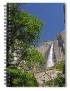 Upper Yosemite Falls Spiral Notebook