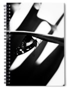 Upside Down Butterfly Spiral Notebook