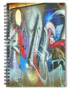 Urban Alley Spiral Notebook