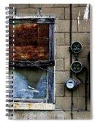 Urban Gritty Spiral Notebook