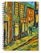Urban Lights By Prankearts Spiral Notebook