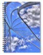Urban Metamorphosis Spiral Notebook