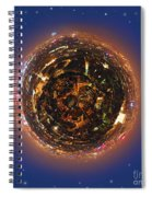 Urban Planet Spiral Notebook