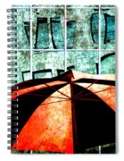 Urban Umbrella Spiral Notebook