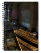 Urbex Morning Wake Up Spiral Notebook