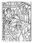 Urine Analysis, Patients With Syphilis Spiral Notebook