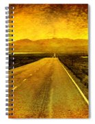 Us 50 - The Loneliest Road In America Spiral Notebook
