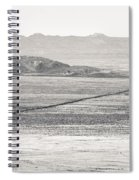 U.s. Alt-89 At Vermilion Cliffs Arizona Bw Spiral Notebook