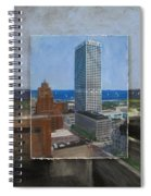 Us Bank Lake Michigan Layered Spiral Notebook