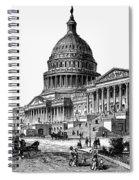 U.s. Capitol, 1884 Spiral Notebook