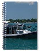 U.s. Customs Border Protection Spiral Notebook
