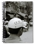 Usa And Hanoi Spiral Notebook