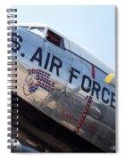 Usaf Douglas Dc-3 Transport Aircraft Spiral Notebook
