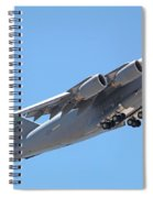 Usaf C-17 Lift Off  Spiral Notebook