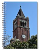 Usc's Clock Tower Spiral Notebook