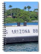 Uss Arizona Bb 39 Marker Spiral Notebook