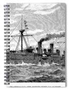Uss Baltimore, 1890 Spiral Notebook