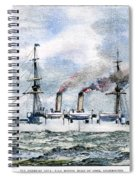 Uss Boston, 1890 Spiral Notebook