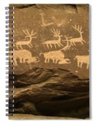 Utah Petroglyphs 1 Spiral Notebook