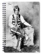 Ute Man, C1906 Spiral Notebook