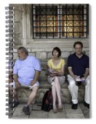 Vacation In Venice Spiral Notebook