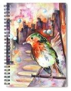 Vagabond De La Nuit Spiral Notebook