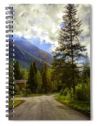 Vail Country Road 1 Spiral Notebook