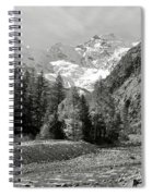 Val Di Cogne In The Italian Alps Spiral Notebook