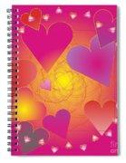 Valentine 2012 Spiral Notebook