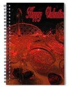 Valentine Crystal  Spiral Notebook