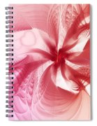 Valentine Flower Spiral Notebook