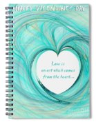 Valentines Day Spiral Notebook