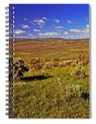 Valley At Fossil Butte Nm Spiral Notebook