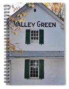 Valley Green Inn - Side View Spiral Notebook
