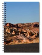 Valley Of Fire Winding Road Spiral Notebook