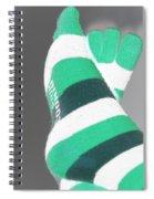 Val's Feet In Negative Spiral Notebook