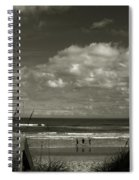 Vamos A La Playa Spiral Notebook