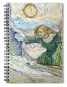 Van Gogh: Lazarus Spiral Notebook